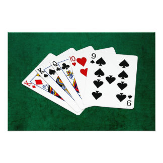 Poker Hands - One Pair - King Photo Art