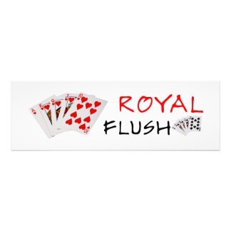 Poker Hands - Royal Flush Art Photo