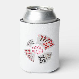 Poker Hands - Royal Flush Can Cooler