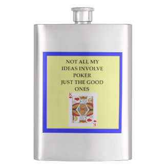 POKER HIP FLASK