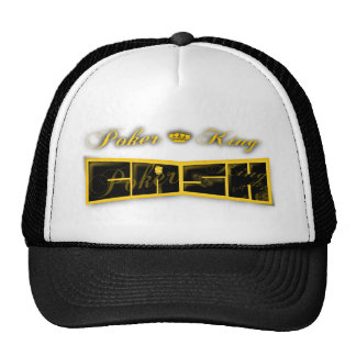 poker king cash trucker hat