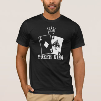 Poker King  Two Aces T-Shirt