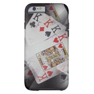 Poker,_Kings,_Quads,_Tough iPhone 6/6s Case