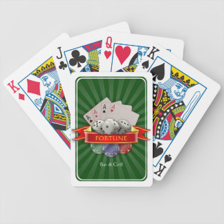 Poker Mania - Cards, Dices, Chips Bicycle Playing Cards