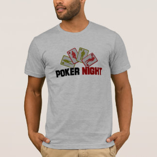 Poker Night with Playing Cards T-Shirt
