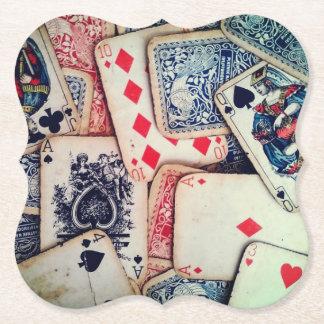 """Poker"" Paper Coasters"