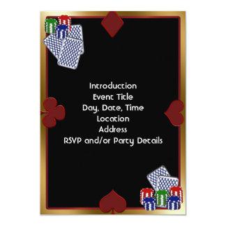 Poker Party Invitation Template