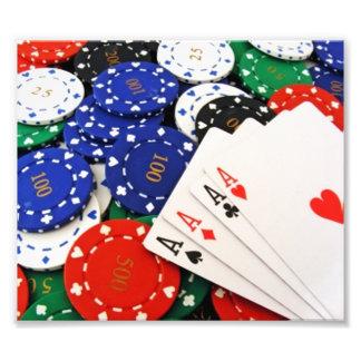 Poker Photo Art