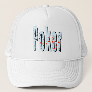 Poker Picture Logo, Trucker Hat