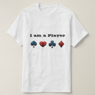 Poker Player Card Shark T-Shirt