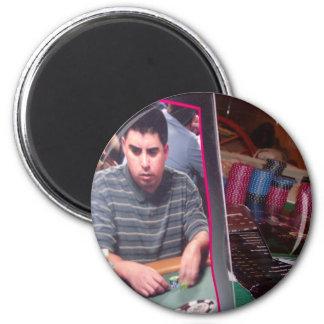 poker player magnet