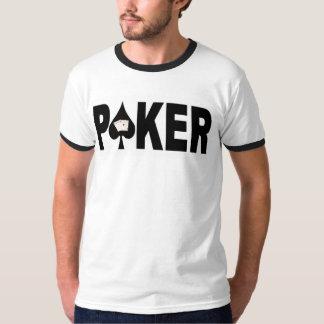 POKER Player Ringer T-Shirt