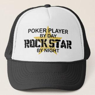 Poker Player Rock Star by Night Trucker Hat