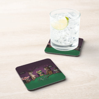 Poker Playing Animals Coaster