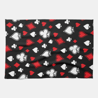 Poker Playing Cards Kitchen Towel