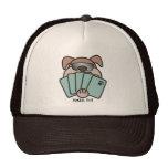 Poker Pup Cap Hats
