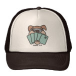 Poker Pup Cap Trucker Hat
