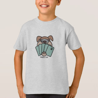 Poker Pup Kids T-Shirt