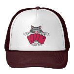 Poker Puss Cap Trucker Hats