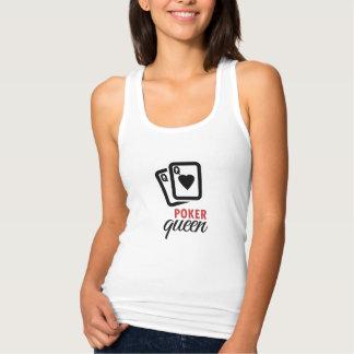 Poker Queen Tank Top