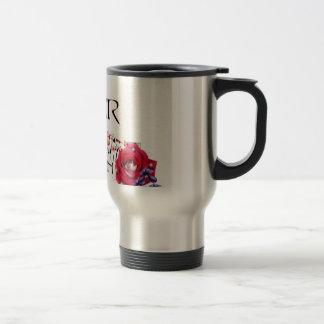 Poker Queen Travel Mug