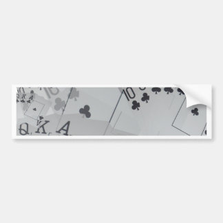 Poker,_Royal_Club_Flush,_ Bumper Sticker