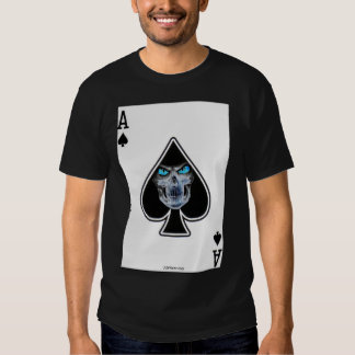 Poker Shirt Reaper Ace of Spades