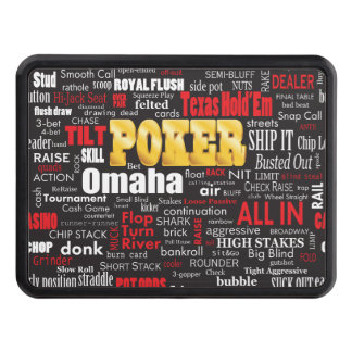 Poker Slang Hitch Covers