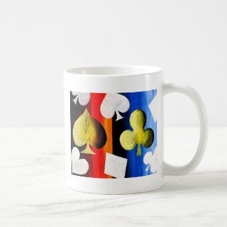 Poker Suits designer coffee mug