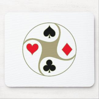 Poker Suits Mousepad