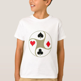 Poker Suits Youth T-Shirt