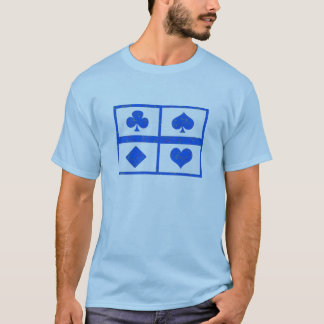 Poker Symbol Art - Fan Club - Multicolor choices T-Shirt