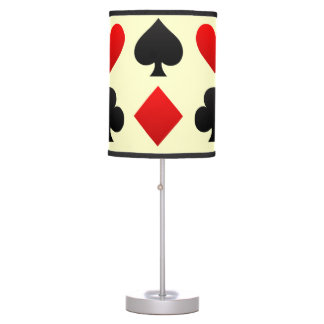 Poker Table Lamp