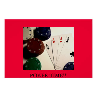 POKER TIME!! POSTER