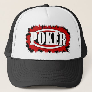 poker trucker hat