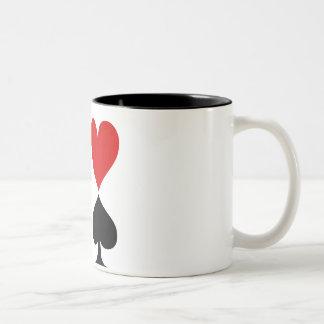 Poker Two-Tone Coffee Mug