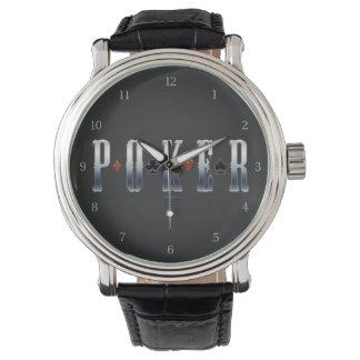 Poker Wrist Watch