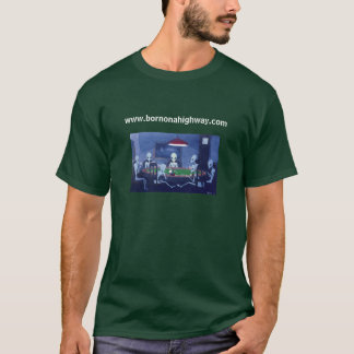 Poker, www.bornonahighway.com T-Shirt