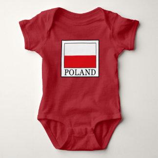 Poland Baby Bodysuit
