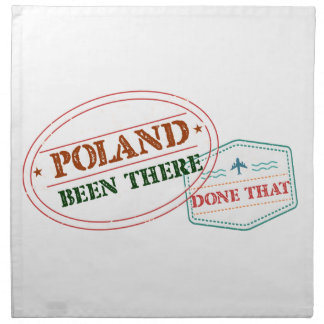 Poland Been There Done That Napkin