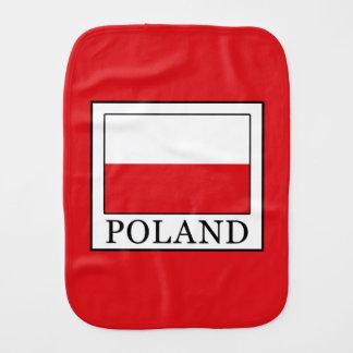 Poland Burp Cloth