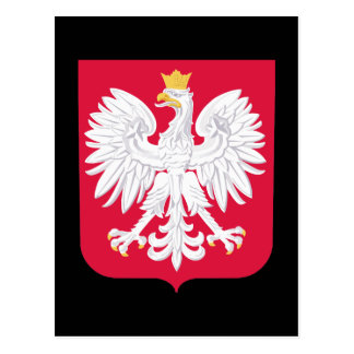 Poland Coat of Arms Postcard
