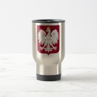 Poland Coat of Arms Travel Mug