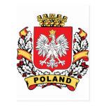 Poland Crest Postcard