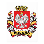 Poland Crest Postcards