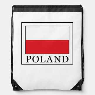 Poland Drawstring Bag