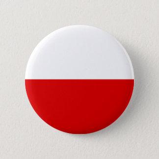 Poland Flag 2 Inch Round Button