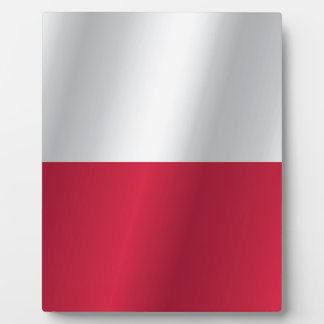Poland flag display plaques