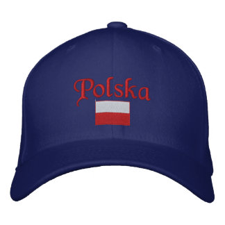 Poland Flag Embroidered Hat