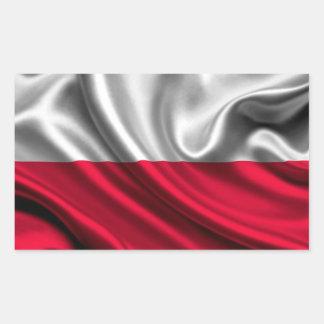 Poland Flag Fabric Sticker